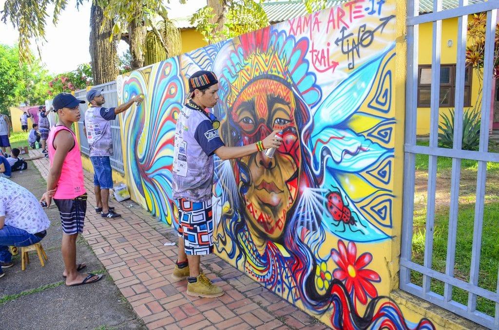 Rio Branco Lets Graffiti Rule The Streets