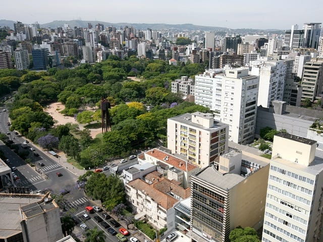 Porto Alegre, Brazil is home to one million urban trees.